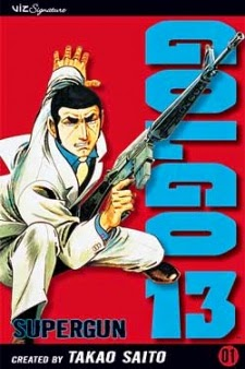 Manga Golgo 13 Volume pertama