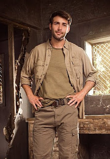 Promo art of James Wolk in ZOO