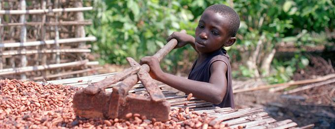 Hershey, Nestle and Mars have been using child slaves to make your chocolate. See for yourself.