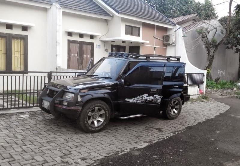 Foto modifikasi mobil suzuki escudo