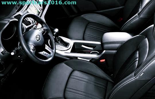 2017 Kia Sportage Interior