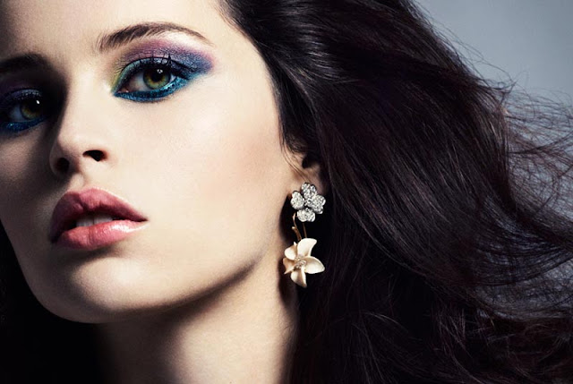Dolce Vita' Felicity Jones models all Dolce & Gabbana for Marie Claire