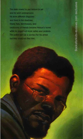 exclusive  sample page #2 from NELSON MANDELA  by Kadir Nelson