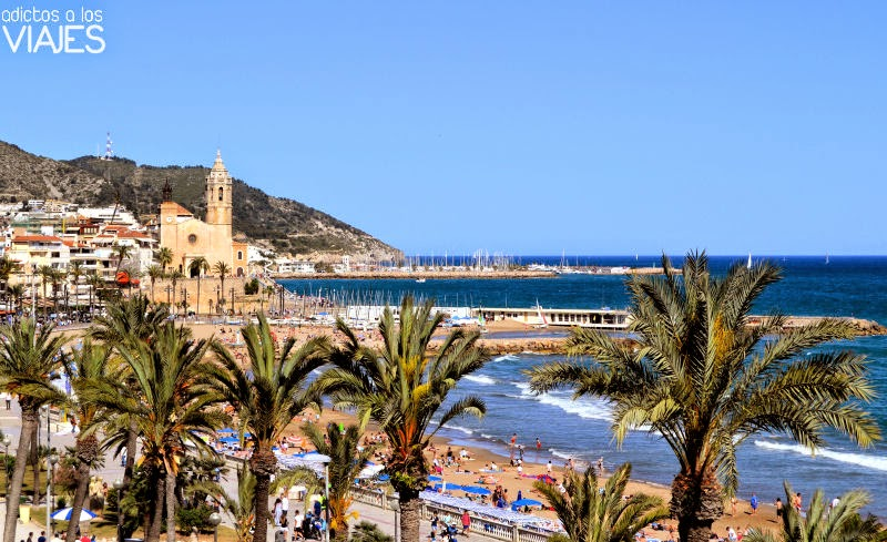 Hotel cal polis un hotel con vistas al mar en sitges adictos a los viajes blog de viajes - Fotos de sitges barcelona ...