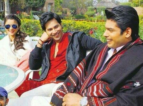 Alia Bhatt & Varun Dhawan on the sets of their upcoming Humpty Sharma Ki Dulhania