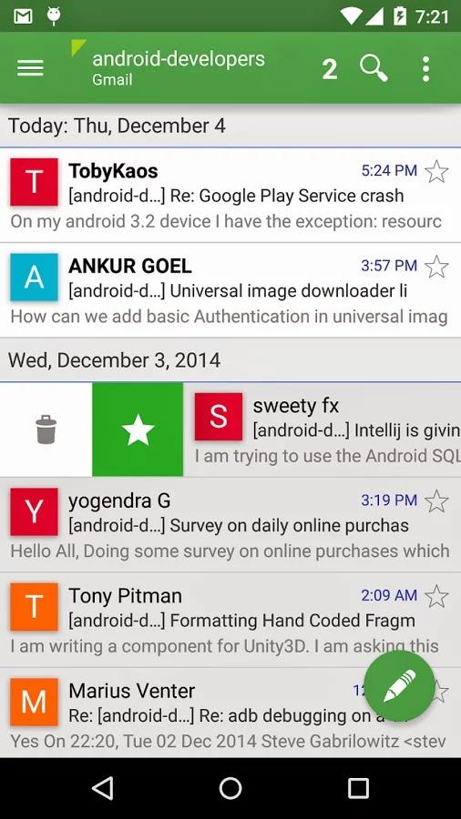 Aqua Mail Pro - email app v1.5.1.18.2