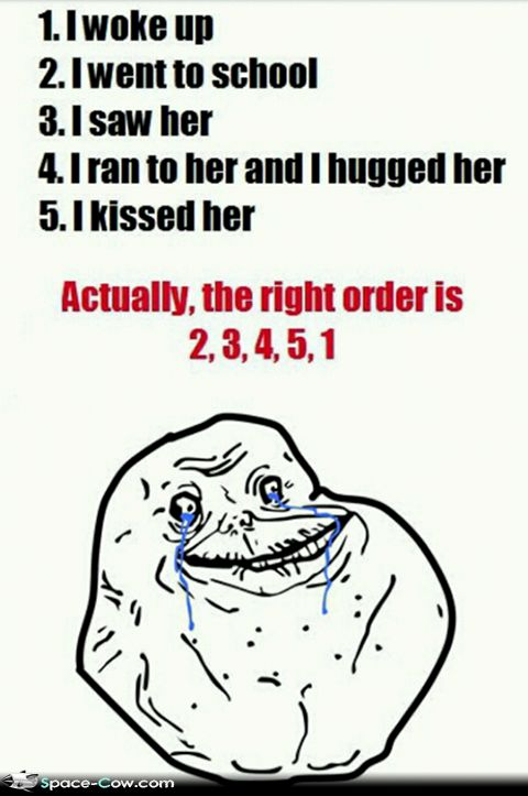 Funniest Meme Tumblr : Forever alone school day funny pictures