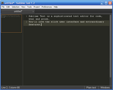 Sublime Text three Build 3012