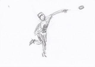 1 minute gesture sketch
