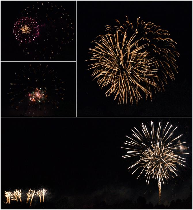 fuochi d'artificio di ferragosto a padova