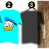 Download template kaos vector corel draw