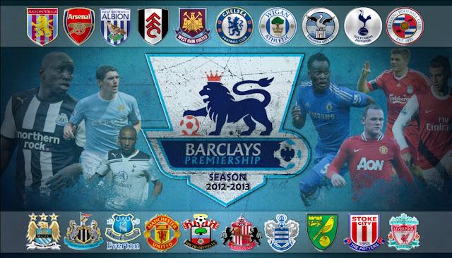 Barclays Premier League Season 2012-2013 (Liga Inggris).