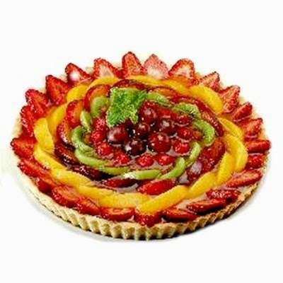Torta Cremosa de Frutas