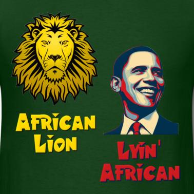 obama lying african