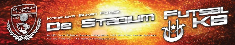 De Stadium Futsal Kota Bharu