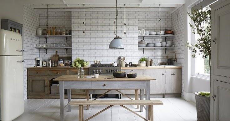 bancone fai da te in cucina - shabby chic interiors - Banconi Da Cucina