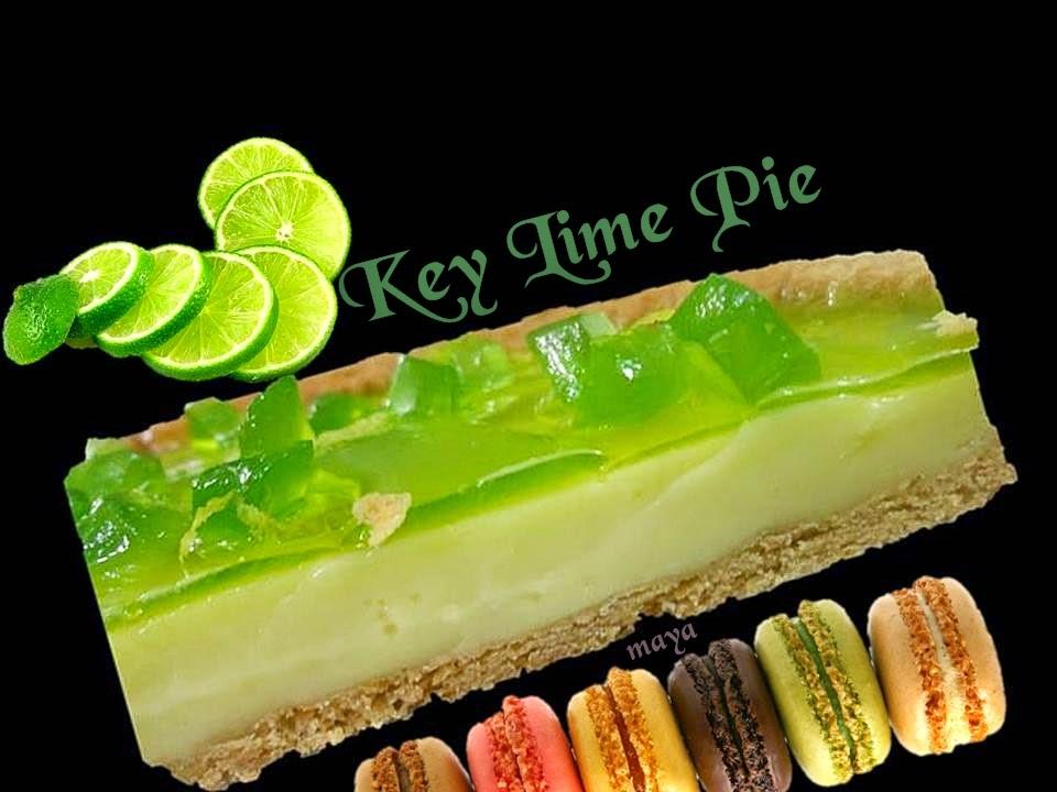 les recettes de maya key lime pie avec gla age miroir citron vert. Black Bedroom Furniture Sets. Home Design Ideas