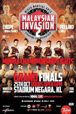 MIMMA2 MIMMA season 2 poster full fight card
