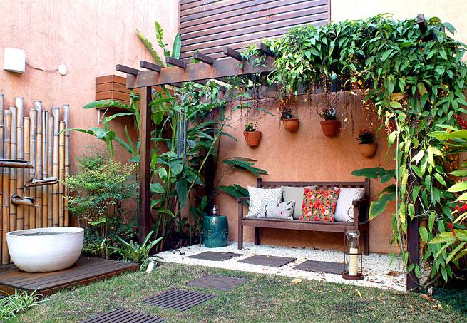 jardim quintal grande:Cama Soft – Roupas de Cama em Malha Soft: Pergolados muito charmosos