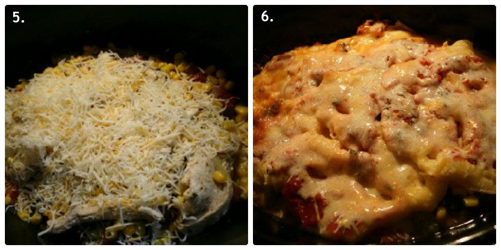 Crock Pot Mexican Tortilla Lasagna