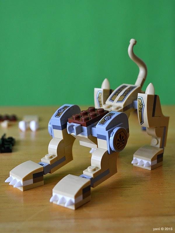 lego chima legend beast lion - headless lion ready for pouncing