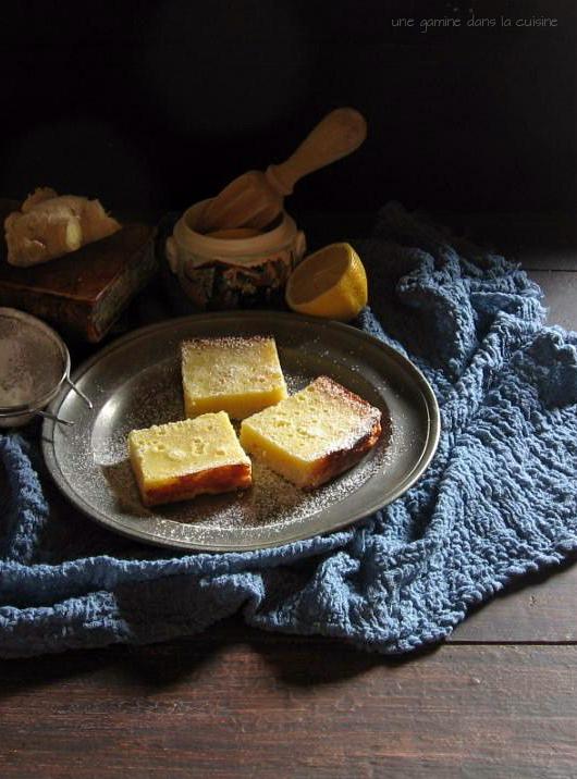 Whole Lemon Ginger Bars | une gamine dans la cuisine