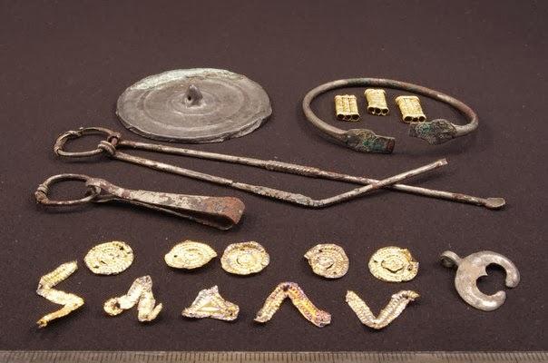 Археология. новости мира археологии: сарматское золото и еще.
