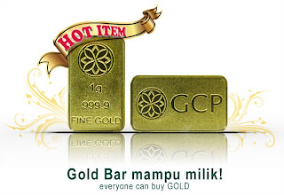 Gold Bar GCP - 1gram (24k)