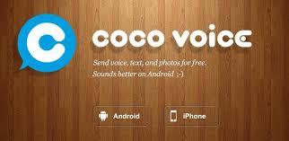 Aplikasi Coco Voice Android
