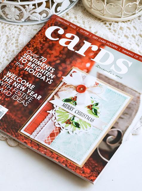 "Конфетка ""Журнал CARDS"" от Тани Fleur"