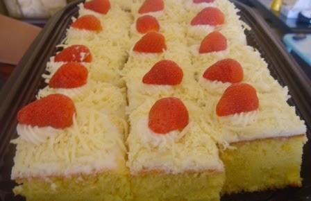 Resep Cake Kukus Keju Spesial Enak