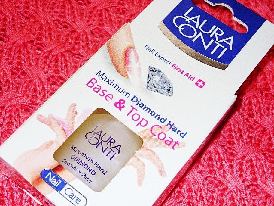Recenzja: Diamentowa odżywka do paznokci, Laura Conti