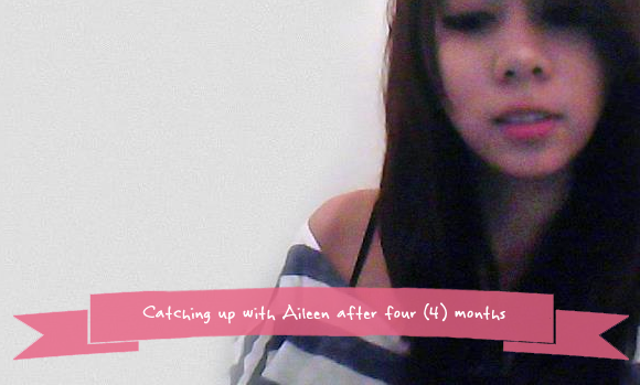 Aileen Blogs Again After Long Hiatus