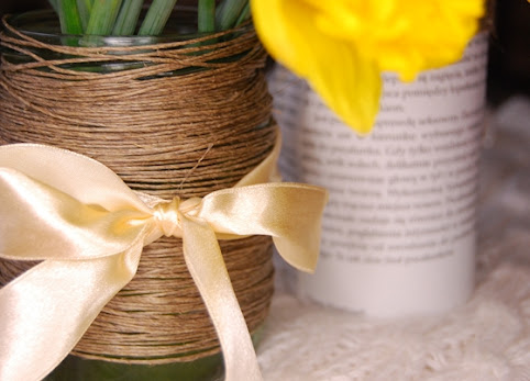 Dwa sposoby na wazon ze słoika - DIY