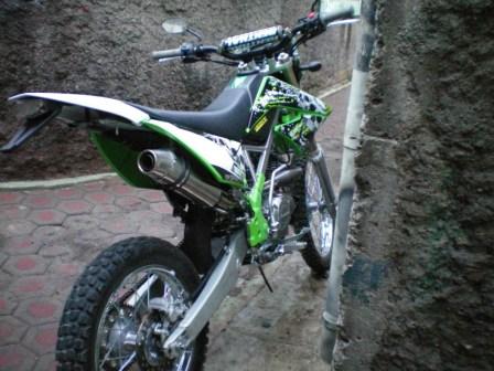 Kawasaki klx 150 modifikasi motor motorcycle news ajilbab com portal