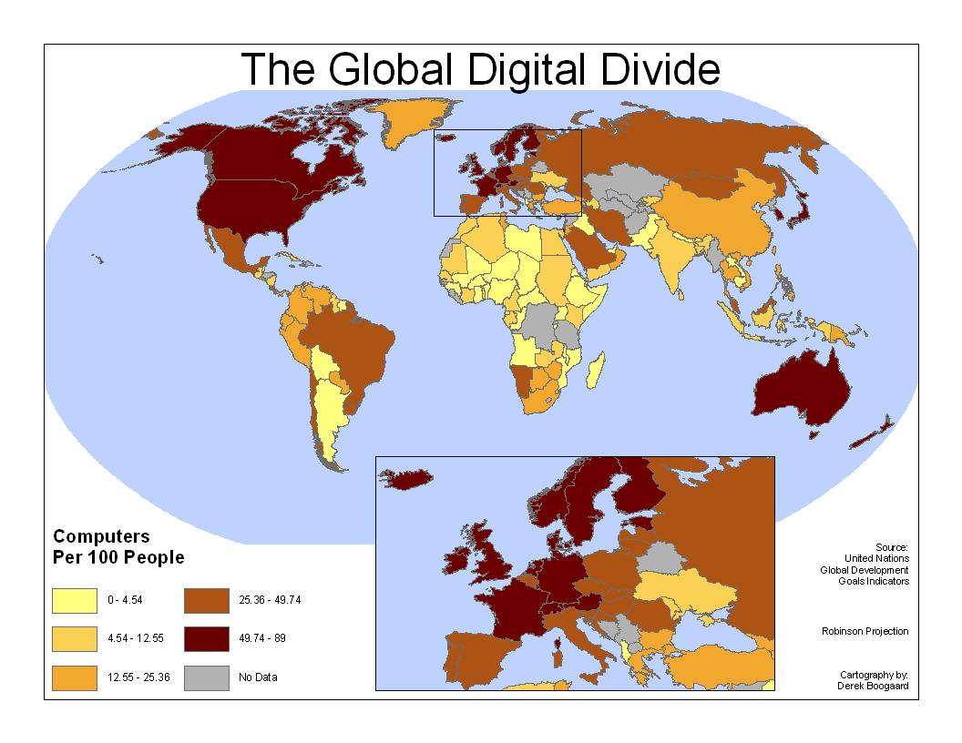 how to solve digital divide