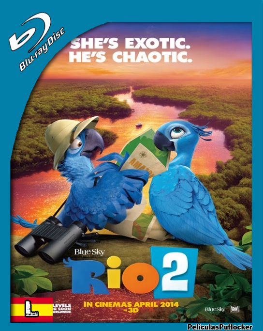 Rio 2 [BrRip 720p][Latino][FD-4S-SD-MG]