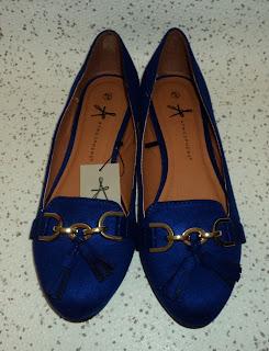 Blue Tassel Slipper