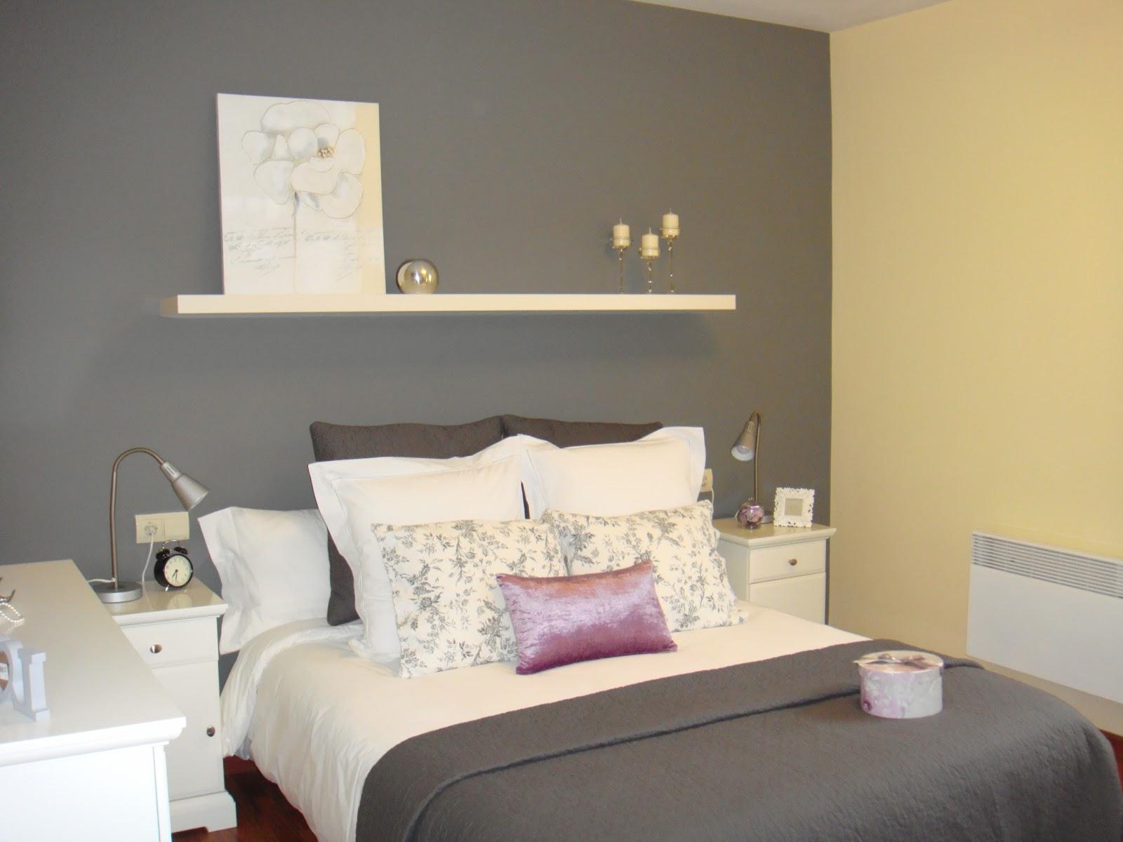 Con lim n y sal habitacion sorpresa - Pintura pared gris ...
