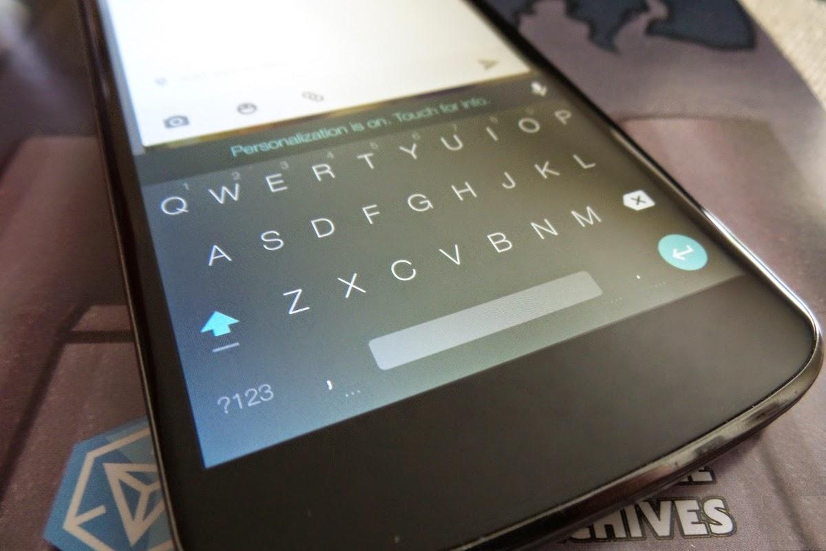 Cara Memasang Keyboard Android L