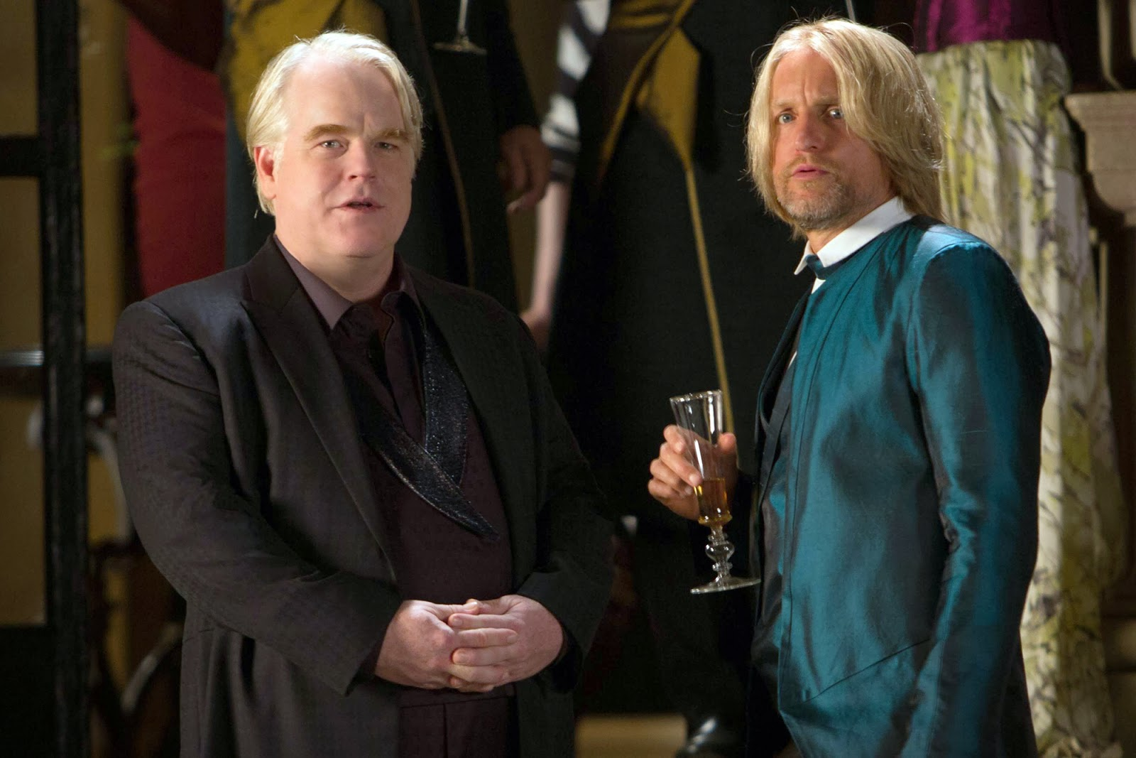 Phillip Seymour Hoffman in Hunger Games