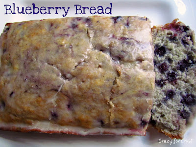 Recipe: Blueberry bread