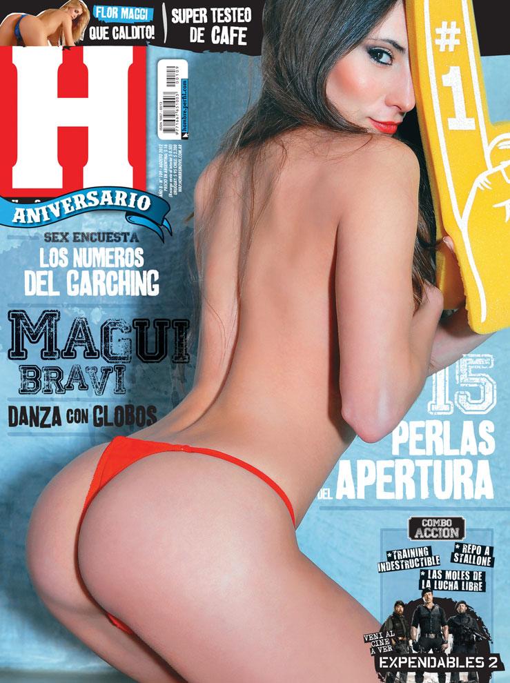 Ver Fotos Magdalena Magui Bravi Desnuda En Revista Hombre Agosto