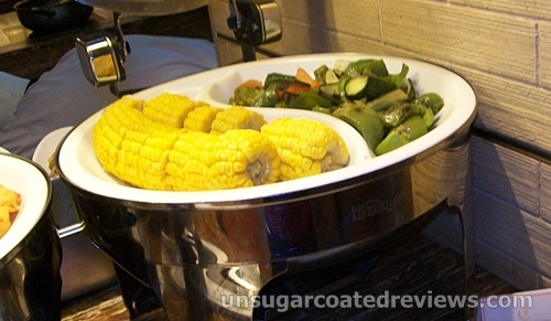corn and vegetables for grilling
