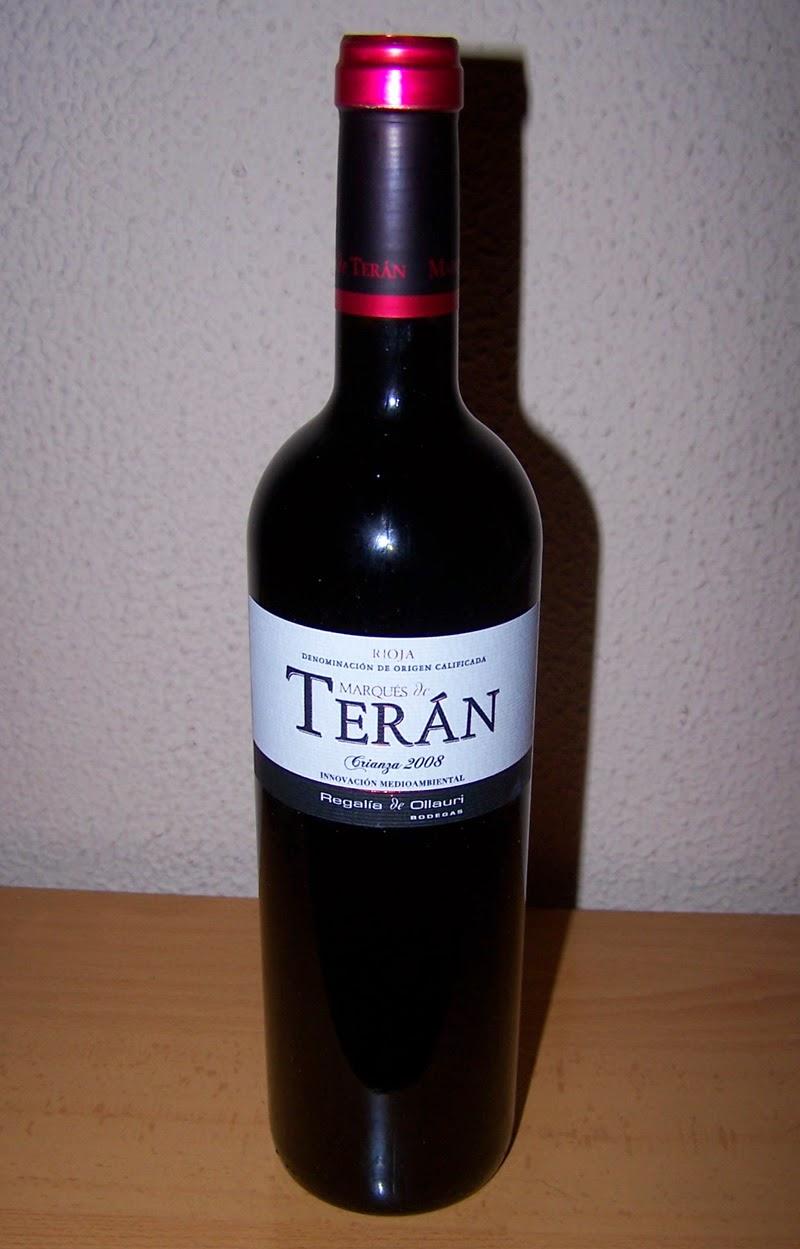 MARQUÉS DE TERAN CRIANZA 2008, D.o.c Rioja