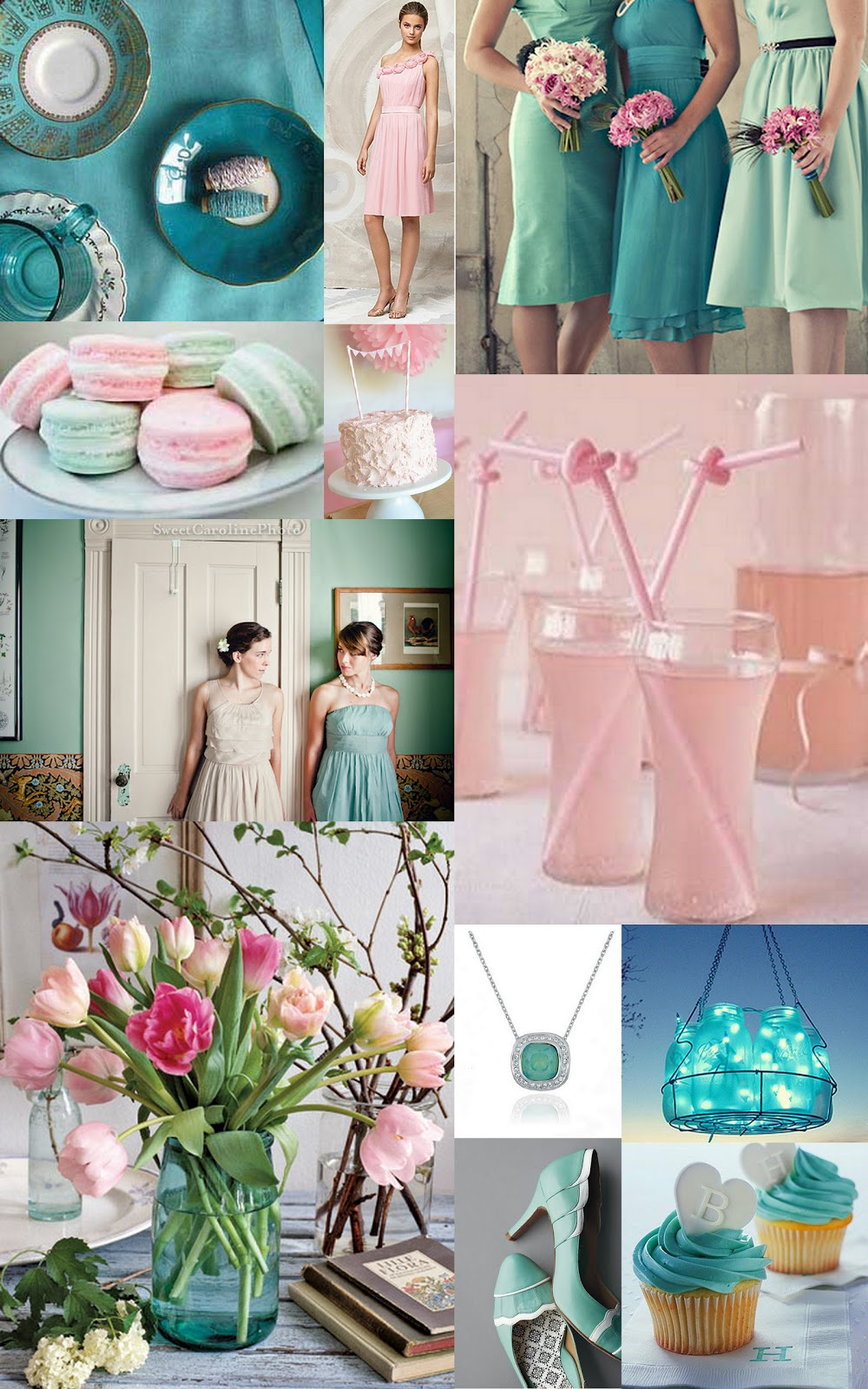 Wedding Inspiration Colour Inspiration Board Weddinginspiration Colorboard Paper Dolls Pink