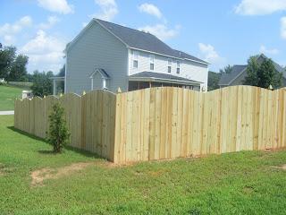 Деревянный забор. Фото 46