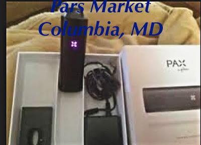 Inside Box of Pax 1 Vaporizer at Pars Market columbia Maryland 21045