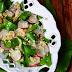 Salata cu leurda, ridichi si quinoa