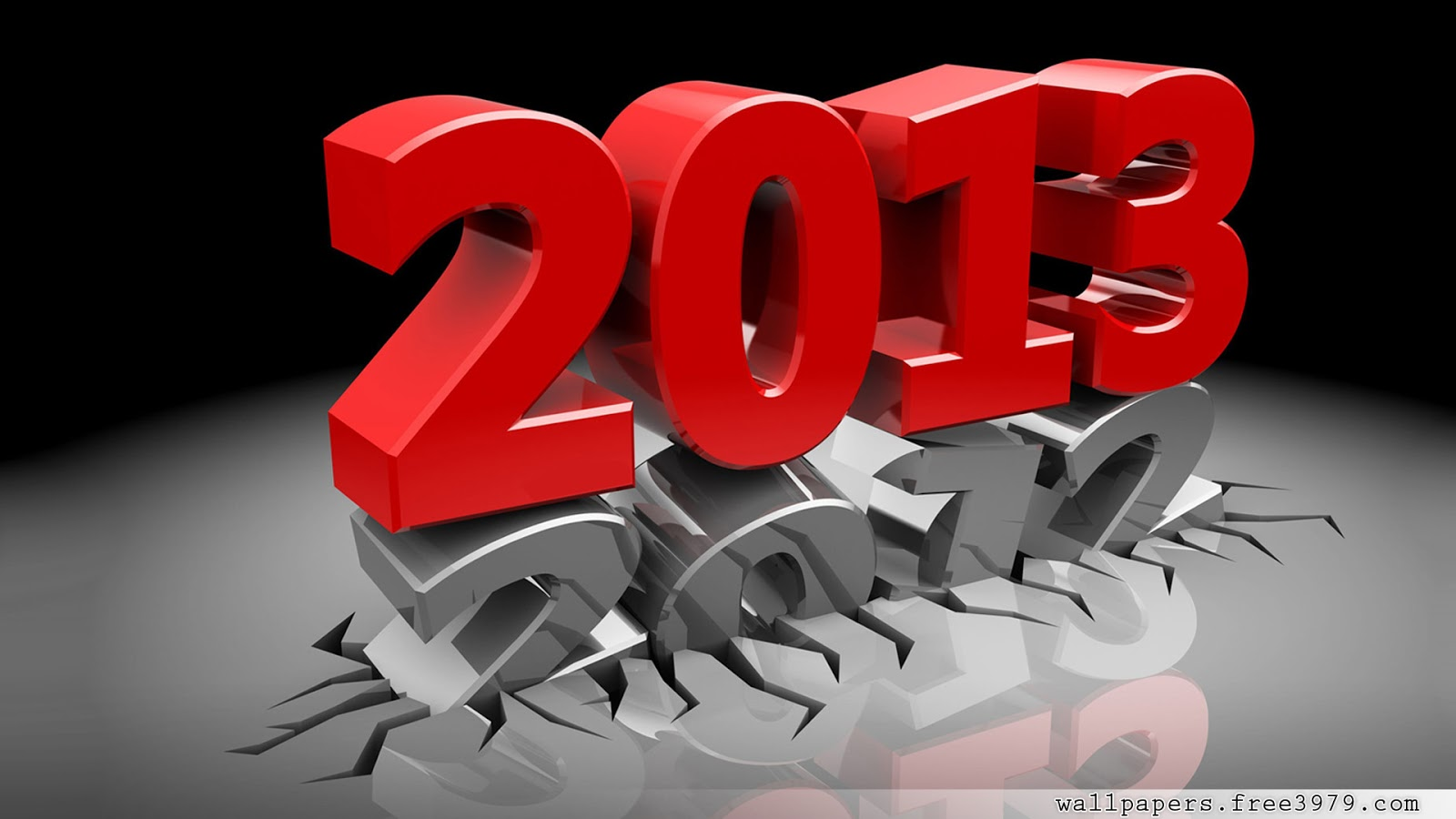 New Year wallpapers 2013 3d